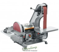 Brand New Jet Industrial Bench Belt Grinder & Disc Sander