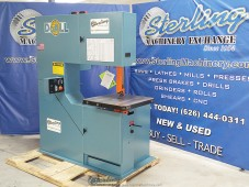 Brand New DoALL (Variable Frequency AC Inverter) Vertical Contour Bandsaw