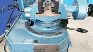New Scotchman (LOW TURN, POWER CLAMPING AND MANUAL DOWN FEED) Circular Cold Saws (For Cutting Steel, Stainless, Aluminum, Brass, Copper, Plastics)