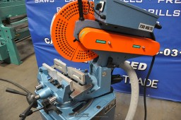 New Scotchman (NON-FERROUS, MANUAL VISE AND MANUAL DOWN FEED) Circular Cold Saw (For Cutting Aluminum, Brass, Copper, Plastics)