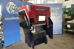 "Brand New Cincinnati Electric High Accuracy CNC Press Brake ""Ideal for Small Parts"""