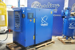 Brand New Quincy Rotary Screw Air Compressor With Sound Enclosure