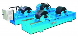 Brand New Gentec Turning Roll Driver and Idler Set