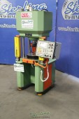 Used Energo 4 Column Hydraulic Press (BRAND NEW NEVER USED) Great for Pressing Metals or Coins and Jewelry Making For Blanking, Clamping, Coining, Embossing, Drawing, Forming, Injection Molding, Powder Compacting, Forging, Trimming and More. For Gold, Sil