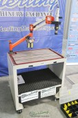 Used (Demo Machinery) Baileigh Single Arm Articulated Air Powered Tapping Machine