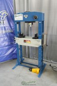 Used (Demo Machinery) Baileigh Air/Hand Operated H-Frame (Gap) Press