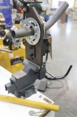 Brand New Baileigh Vice Mounted Hole Saw Tube & Pipe Notcher