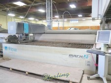 Used Flow 5-Axis Dynamic XD CNC Waterjet Cutting System (GUARANTEED by FLOW DEALER) 87,000 PSI Intensifier Pump