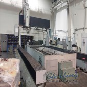 Used Flow 6-Axis Low Rail Gantry Type Water Jet