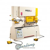 Brand New Geka Dual Cylinder Ironworker with Bending Station