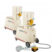 Brand New Geka Portable Ironworker
