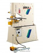 Brand New Geka Puma Series Hydraulic Ironworker Single End Punch with 5 Power Settings
