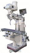 Brand New GMC Manual Variable Speed Knee Type Vertical Milling Machine with DRO