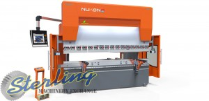 Brand New Nukon Genius 4 Axis CNC Hydraulic Press Brake