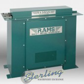 Brand New RAMS S & D Drive Roll Forming Machines