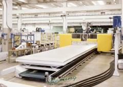 Used CMS 5 Axis CNC Gantry Bridge Router
