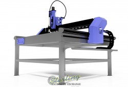 Brand New Squickmons CNC Plasma Cutting Table
