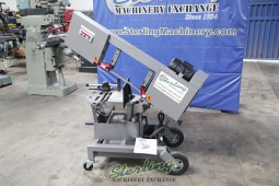 Brand New Horizontal and Vertical Dual Mitering Portable Bandsaw (Head Miters Left And Right) 1 Phase, 115 Volts