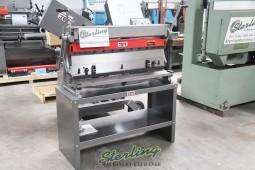 Brand New Jet Industrial 3 IN 1 Shear, Brake and Roll WITH STAND