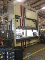 used pacific hydraulic obl open back long straight side hydraulic press (like new) 750-12 OBL
