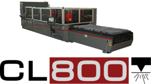 CL-800 SERIES CO2 LASER CUTTING SYSTEM